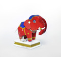 The Himmapan Postcard & Cut-out Statue is a set of Eco design postcards that can be easily cut and folded into little elephant statues that you can send to any part of the world all the way from Thailand. Made from recycled material, it comes in four different elephant designs that bring their recipients felicity, tenacity, longevity and prosperity. They come in these adorable vibrant colors that people of any age are sure to love.