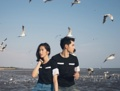 FLY TO THE SKY Color : B&W and Blue Sky Price : 320.- Unisex Size : S M L XL