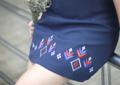 "NEW ! กระโปรงลายปัก 'ลายดอกแก้ว' ผ้ามอสเครปของญี่ปุ่นเนื้อดี มีซับใน ซิปหลัง เก็บทรงสวย ลายปัก ลายนี้มี 4 เหมือนเดิมนะคะ  Item : Skirt  Color : Navy RN ✔️S size : waist 26"", hip 36"", length 15"" ✔️M size : waist 28"", hip 38"", length 15"" ✔L size : waist 30"", hip 40"", length 15"" Price : 690 Baht - Free Shipping - - - - - - - - - - - - - - - - - - - - - - - - - - - Contact : Nathai.brand@hotmail.com Inbox page facebook : nathai.brand LINE : nathai.brand, thezoprano  📍ระบุไซส์มาในขั้นตอนสั่งซื้อด้วยน้า  #minimal #thailand #thai #graphics #graphicdesign #design #youngdesigner #dress #skirt #thaistyle"